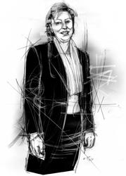 Giulia Parente nel ritratto di Francesco Ardizzone