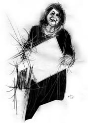 Mathelda Balatresi  nel ritratto di Francesco Ardizzone