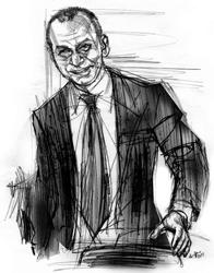 Gianluca Guida nel ritratto di Francesco Ardizzone