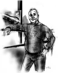Ciro Del Leva nel ritratto di Francesco Ardizzone