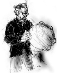 Mimmo Grasso nel ritratto di Francesco Ardizzone