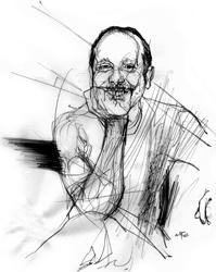 Lorenzo Hengeller nel ritratto di Francesco Ardizzone