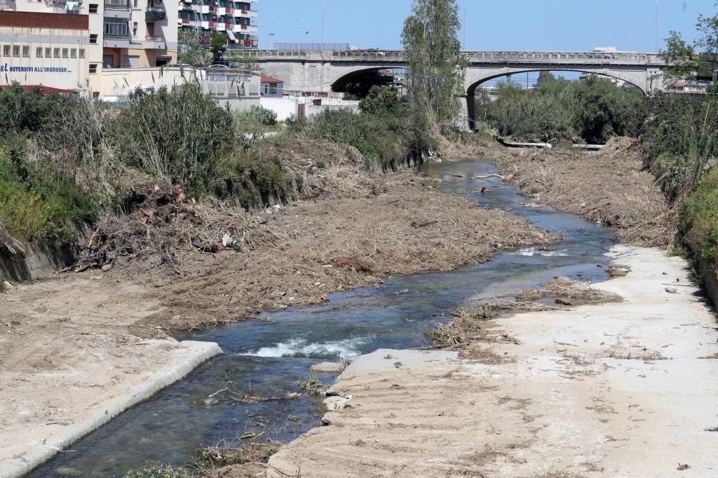 Bonifica fiume oreto