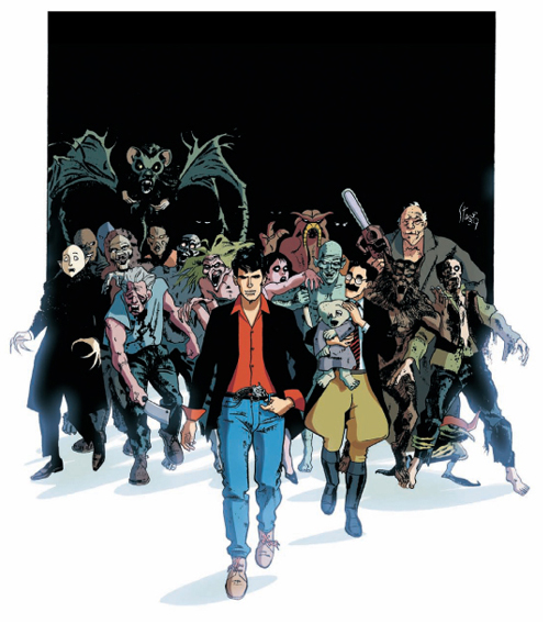 Angelo Stano Per Dylan Dog