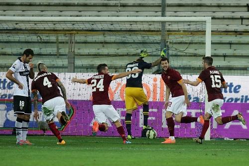 Soccer: Serie A; Parma-Roma