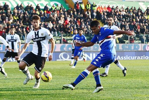 Soccer: Serie A; Parma-Sampdoria