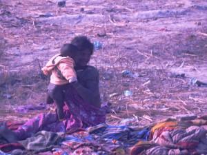 Mamma con il suo pargoletto