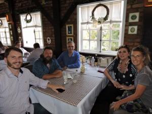 Noi in compagnia del Sindaco Filippi, del vice sindaco Tomaselli e di Dora