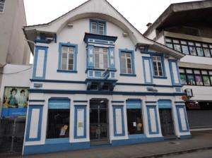 Tipica casa di Blumenau