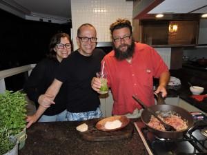 Marco con Roberto Visintainer e Silvia