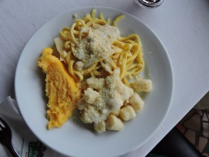 Gnocchi, pasta e polenta