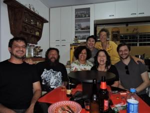 Noi con Rogerio, Rita, Vania, Elis e Jade