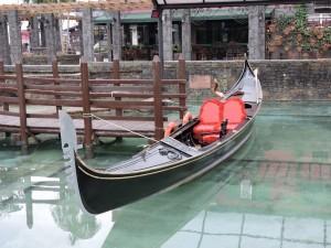 Gondola a Nova Venecia