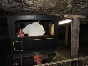Locomotiva per la visita della miniera Modelo