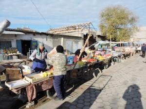 Mercato di Turkestan