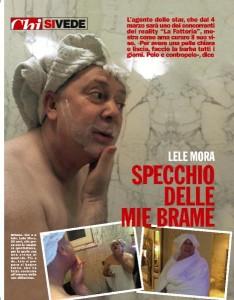 La toilette di Lele Mora