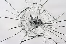 Specchio rotto porta jella
