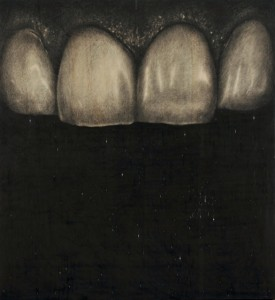 "Omar Galliani, ""Titti i denti di Santa Apollonia"", 2008-2009"