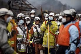 volontari a Fukushima