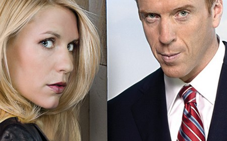 L'agente Carrie Mathison con Nicholas Brody