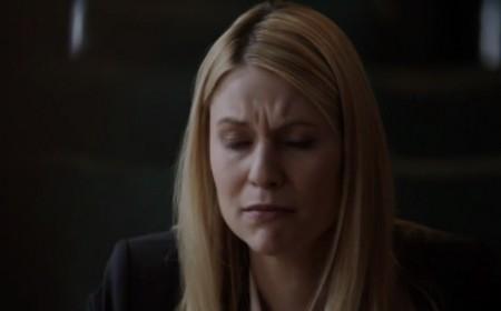 L'agente Carrie Mathison durante la sua deposizione