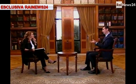 La Maggioni intervista Assad: dirigerà, con RaiNews24, anche RaiNews.it