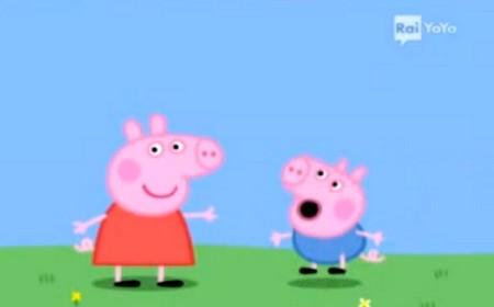 Peppa Pig e il fratellino George su Rai YoYo