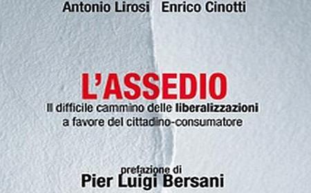 "La copertina del libro ""L'assedio"" (2009)"