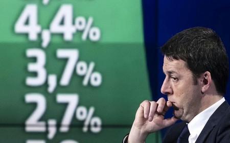 """Renzi nello studio di """"Porta a Porta"""""""