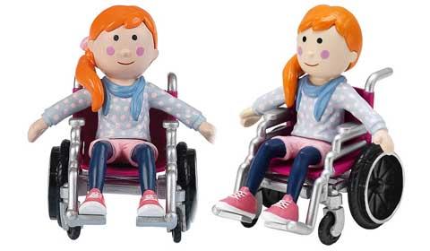 "La bambola ""Emily Pocket"""
