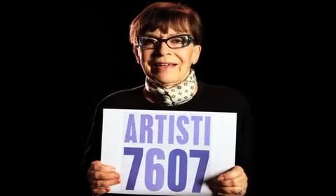 "Franca Valeri per ""artisti 7607"""