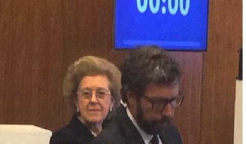 Camillo Rossotto, capo della Finanza della Rai, e il presidente Tarantola