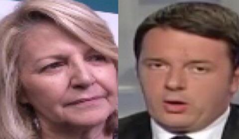 Patrizia Grieco e il premier Matteo Renzi