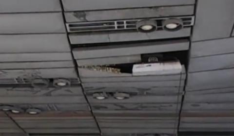 Lavori per rimuovere l'amianto a Viale Mazzini (Roma)