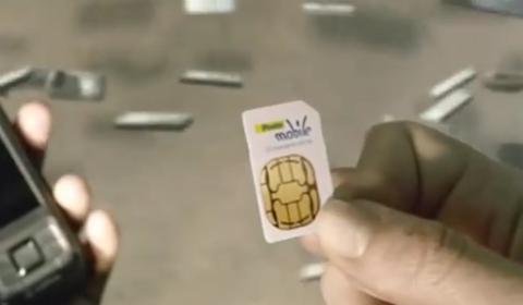 La sim di Poste Mobile
