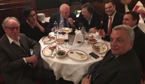 I consiglieti Rai a cena insieme