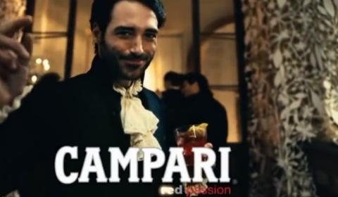 """Lo spot """"Campari Red Passion"""""""