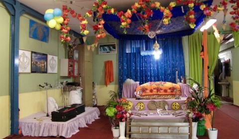 Il tempio Sikh StiGuruNanakDarbar (via Circonvallazione Irientale, 4530/A)