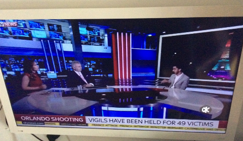 Il canale inglese SkyNews