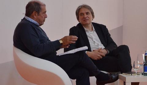 Giovanni Minoli con Antonio Campo Dall'Orto