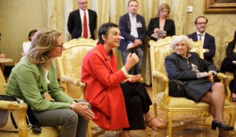 Daria Bignardi, direttore RaiTre (foto: Presidenza della Camera)