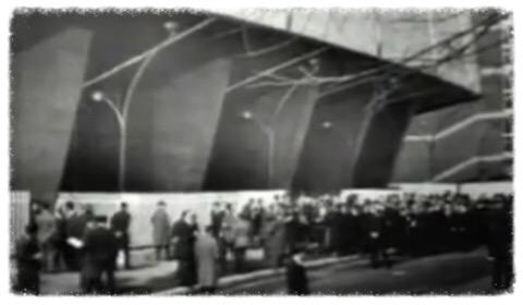 Napoli, inaugurazione della sede Rai (1963)