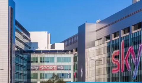 La sede di Sky a Milano Santa Giulia