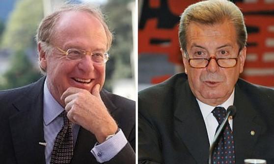 Paolo Scaroni e, a destra, Fulvio Conti