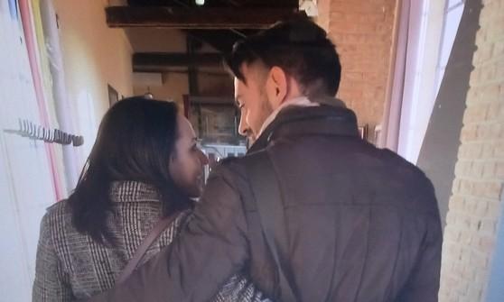 Camilla e Mauro felici dopo la separazione