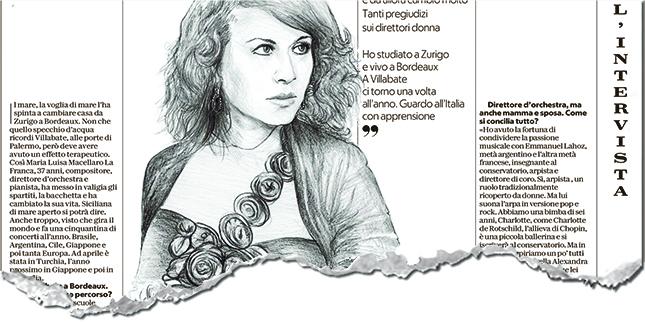 La Macellaro La Franca intervistata da Repubblica (6 maggio 2018)
