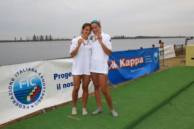 Piazzolla e Pelloni campionesse