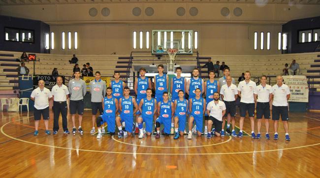 nazionale U18 maschile Italia a Cisternino