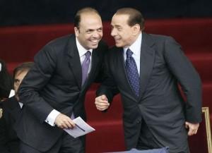 Alfano e Berlusconi
