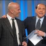 Minzolini con Berlusconi